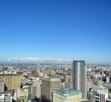 View from JR Tower in Sapporo City East side