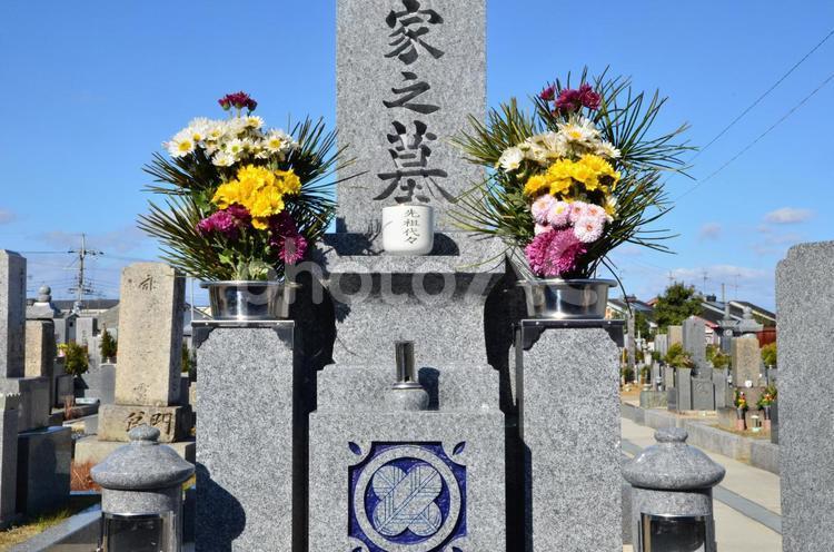 墓参5の写真