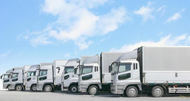 Large trucks and PSDs in parking lots