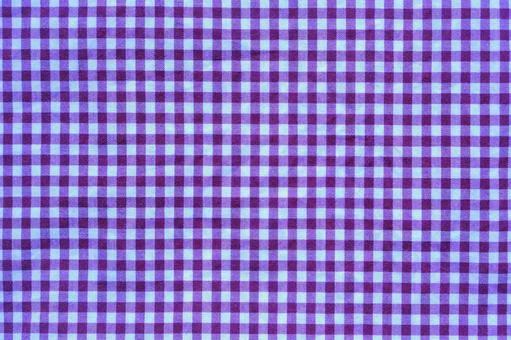 Fabric plaid purple