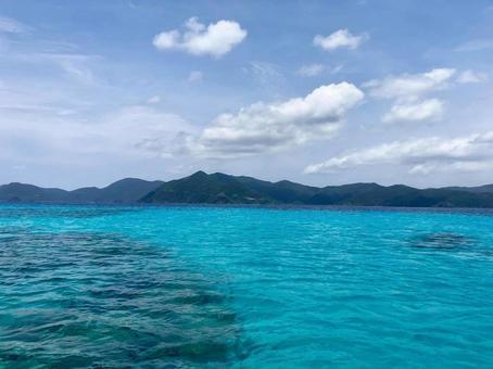 아마미 걸어 呂麻 하늘과 바다