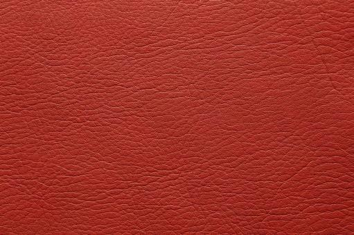 Red leather background material