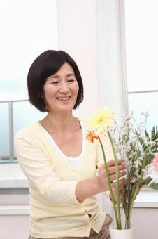 老年婦女7可以去花