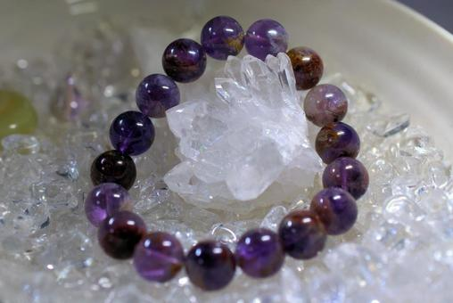 Garden Amethyst Crystal Purification