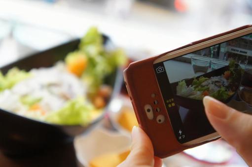 用智能手機拍攝(午餐)