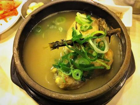 한국 요리 삼계탕