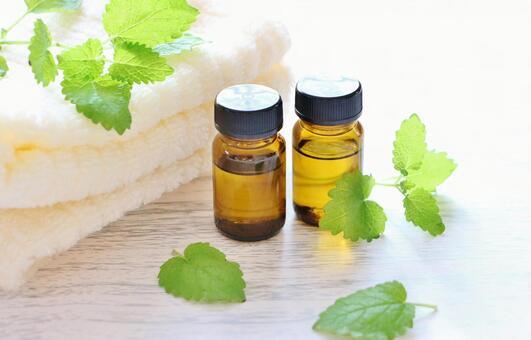 Lemon balm and aroma oil