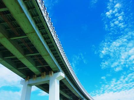 Highway bridge piers