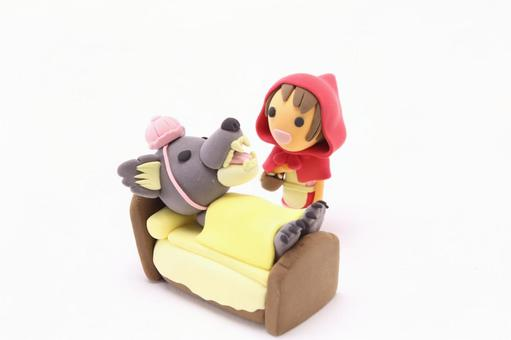 Little Red Riding Hood and the Wolf 1