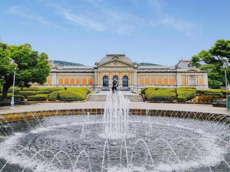京都國立博物館噴泉
