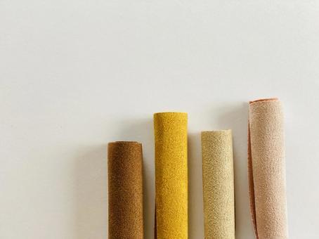 麂皮絨撕掉自然色4種顏色