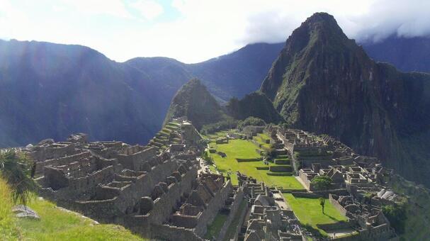 페루 안데스 산록 마추 픽추 유적