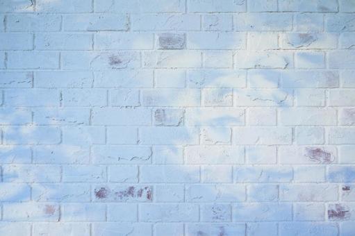 고풍스러운 흰색 벽돌 벽   벽돌의 배경 소재