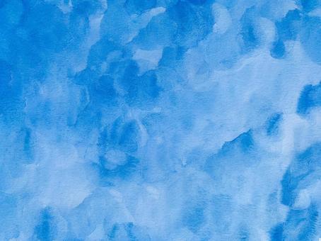 Blue watercolor paper gradient
