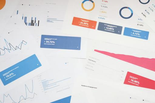 Image of business materials