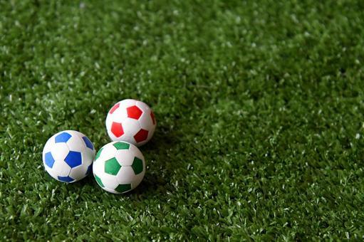 Soccer ball eraser