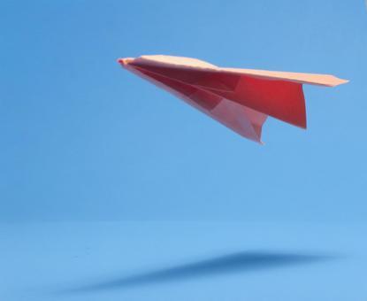 Paper flying machine 159