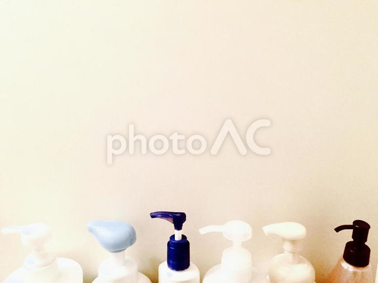 ポンプボトルの写真