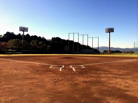 Baseball field Ground Night lighting