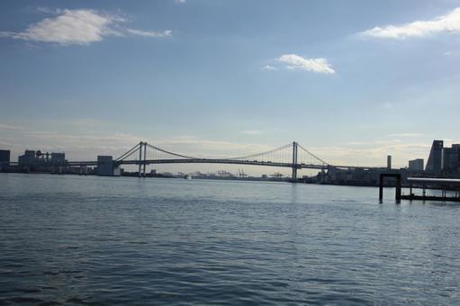 Rainbow Bridge from Hinode Pier
