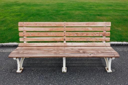 Yamashita Park bench, lawn bench