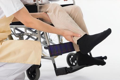Wheelchair male footwear 2