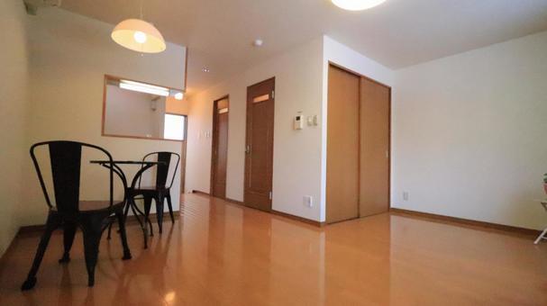 Living alone model room