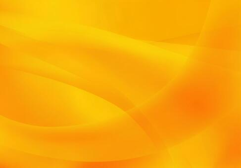 Orange streamlined abstract background material