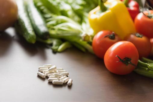 Medicine and vegetables