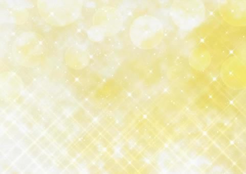 Cross filter style glitter and bokeh Watercolor style background material (gold)