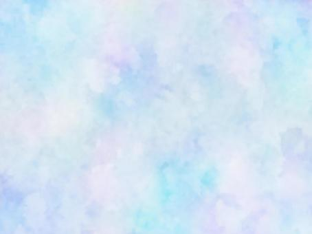 Watercolor-like texture (blue)