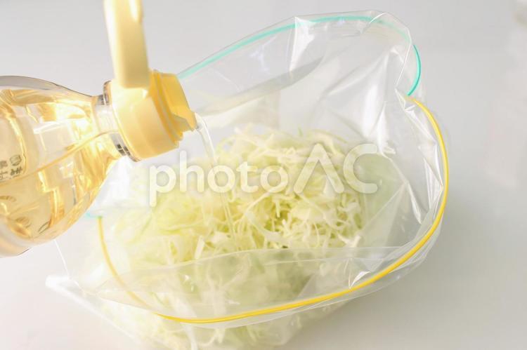 酢キャベツを作るの写真