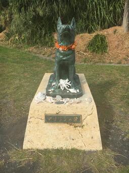 마릴린의 동상