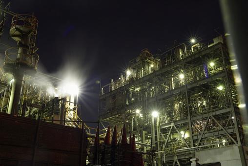 가와사키 공장 야경
