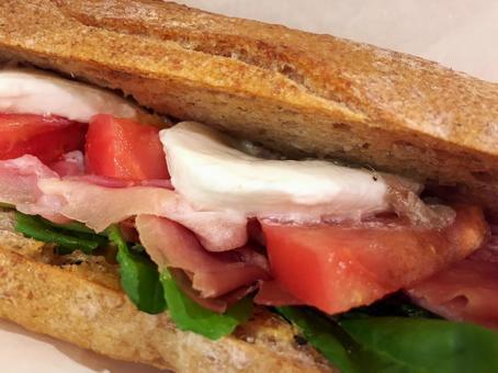 Italian style sandwich panini