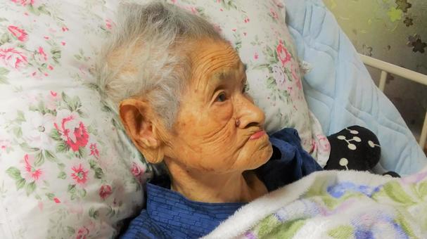 Bedridden elderly care
