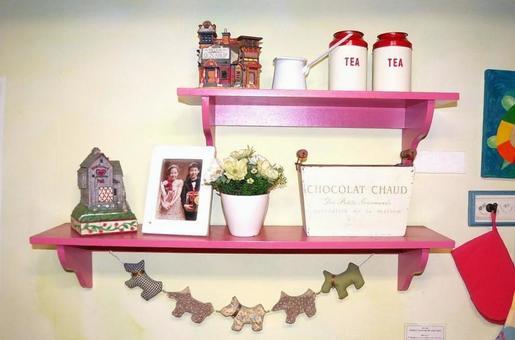 귀여운 핑크의 책장