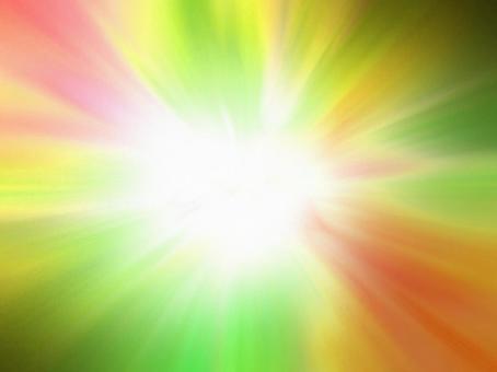 광선 - 빨간색과 녹색