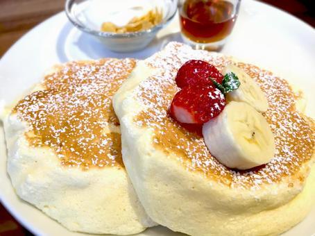 Ricotta cheese pancake # 02