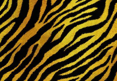 老虎圖案背景黑金圖片素材