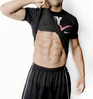 Athlete's abdominal muscle 14