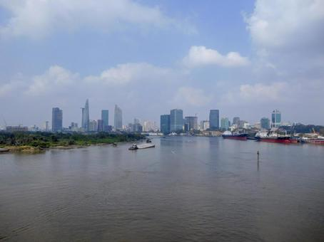 베트남 호치민의 거리 풍경
