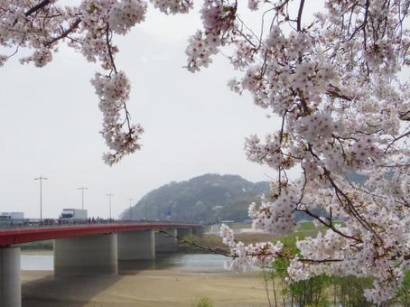 花曇り의 御幸橋