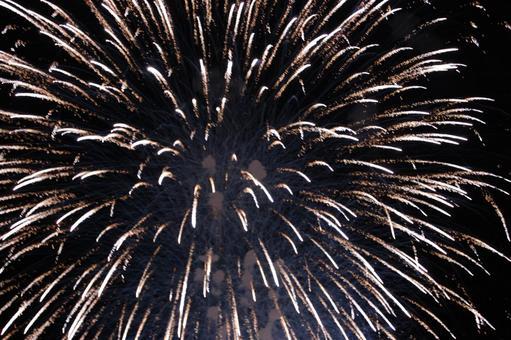 비와코 불꽃 놀이 밤하늘에 오와의 불꽃