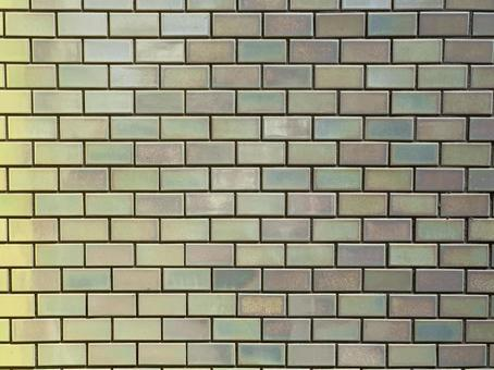 Fine tiles with a green tone