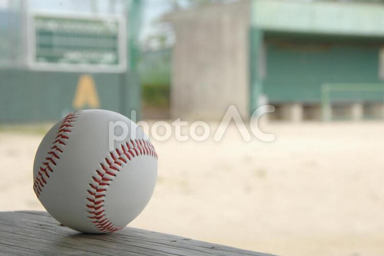 野球ボールの写真