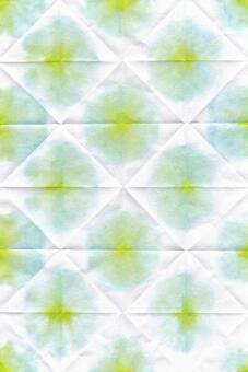 背景水彩日式折染綠色紙