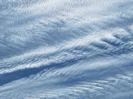 Cirrocumulus sky