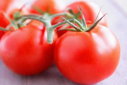 Tomato with tatami