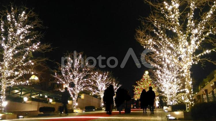 クリスマスの恵比寿の写真